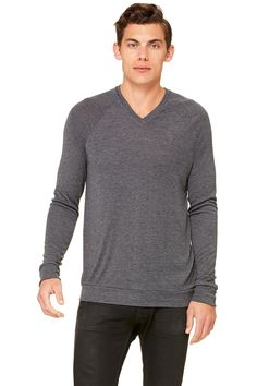 Pullover Vee Sweater