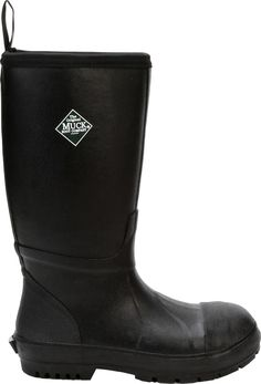 b968ab8cbd9cb Muck Boots Men's Chore Resistant Met Guard Waterproof Steel Toe Work Boots