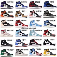 Since its debut in the Air Jordan 1 has been a cultural monument, break. Jordan Shoes Girls, Girls Shoes, Ladies Shoes, Shoes Women, Cute Sneakers, Shoes Sneakers, 90s Shoes, Dior Shoes, Cheap Sneakers
