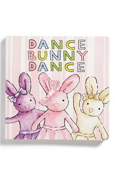 Free shipping and returns on Jellycat 'Dance Bunny Dance' Book (Toddler) at Nordstrom.com. Tactile treasures are nestled inside a whimsical, interactive book that will delight toddlers with bright colors, fun textures and quirky shapes.