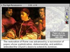 The High Renaissance (The Renaissance Part 2) - http://www.zaneeducation.com - The High Renaissance is Part 2 of The Renaissance - Gain insight to the humanist spirit of the Renaissance, a momentous era that witnessed the development of the chorus, madrigals, and portraiture; the rediscovery of classical antiquity; and the exploration of new forms and techniques, such as painting with oils and four-part polyphony. Observe how the art and ...