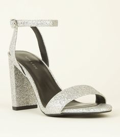 05f5295fde8 10 Best Silver Block Heels  Embellishments images