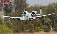 Super A-10 Warthog Thunderbolt II RC EDF Jet ARF - Radio Controlled Super A-10 Warthog Thunderbolt II RC Fighter - RC