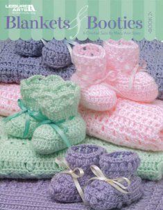 Pattern for sale: baby booties