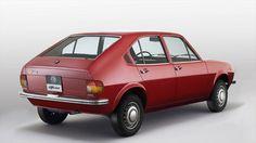 Alfa Romeo Alfasud achterzijde 1971