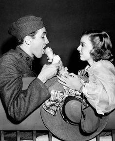 "Jimmy Stewart and Margaret Sullavan for ""The Shopworn Angel"" Ginger Rogers, Jean Harlow, Funny People, Good People, Amazing People, Margaret Sullavan, Glenn Miller, Pre Code, Los Angeles"