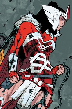 """Sif in Journey into Mystery #648 """"Strong Than Monster III"""" (2013) - Valerio Schiti, Colors: Jordie Bellaire"""
