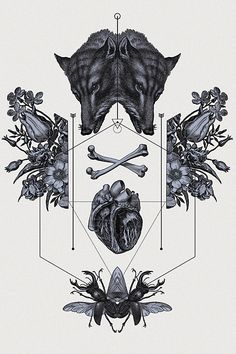 geometrical tattoo flashes.created by Hannes Hummel 2013 prints on sale! 50 x 70 cm, framed and signed fine art prints. highly limited....