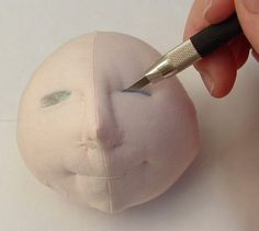 Doll Makers Muse: Looking Good- Making Fabulous Eyes for Cloth Dolls