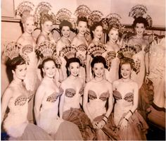 Riviera Nightclub showgirls, Fort Lee, N.J., 1950's