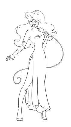 roger rabbit characters coloring pages - photo#17