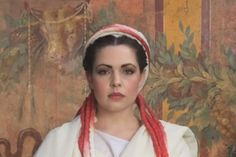 The oldest Roman Hairstyle recreated-A vestal virgin hairstyle- check out the how to video at livescience.com