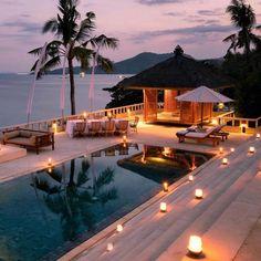 Imaging waking up in bali! Imaging waking up in bali! Beautiful Beach Houses, Beautiful Hotels, Beautiful Beaches, Beautiful Sunset, Beach Trip, Vacation Trips, Vacations, Vacation Mood, Ubud Bali