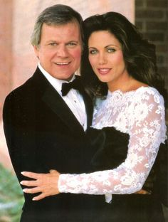 Cliff Barnes and Mandy Winger