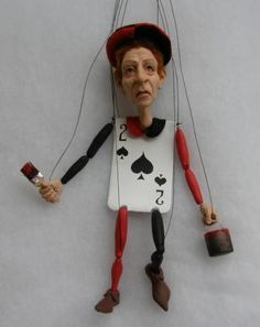 FIMO marionette - POTTERY, CERAMICS, POLYMER CLAY