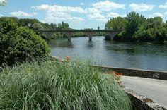 Een van de mooie uitzichtspunten bij Limeuil, Dordogne, E.klever