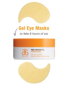 """Everyone will be jelly when they see these fun eye masks! They soothe and cool on contact, transforming tired, puffy-looking eyes into wide-awake, """"I'm a morning person"""" eyes. Plus, our moisture-boosting superfood cocktail of antioxidants, omegas and phytonutrients help soften the look of baby lines around the eyes. 60 gel masks Part of the proceeds from Prepwork goes to supporting the Arbonne Charitable Foundation®'s mission to empower teens."""