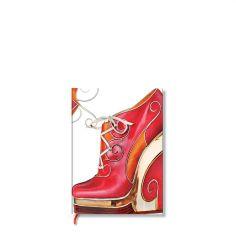 Paperblanks Notizbuch Atemberaubende Fußbekleidung blanko mikro, Lola. #Paperblanks #DasNotizbuch #Notizbuch #Notebook #TopMarke www.dasnotizbuch.de