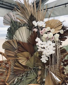 Moroccan Boho Meets English Rustic in This Wilderness Weddings Canterbury Wedding Inspiration « Mutter ADS Dried Flower Arrangements, Wedding Arrangements, Dried Flowers, Paper Flowers, Wedding Bouquets, Wedding Flowers, Wedding Backdrop Design, Boho Wedding Decorations, Ceremony Backdrop