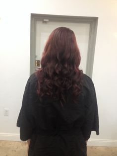 """Andrea Prchal hairstylist at Primo Studio Salon in Scottsdale Arizona. Follow me on Instagram: andreaprchalhairaz or like me on facebook: """"Andrea Prchal Hair Design"""" red hair curls"""