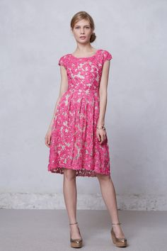 Jardim Lace Dress - Anthropologie.com