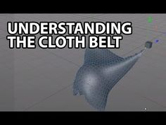 Cinema4D Tutorial: Understanding the Cloth Belt (Beginner)