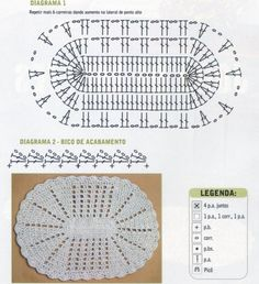 Crochet rug ♥️LCR-MRS♥️ with diagram,