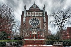 University of Richmond Chapel by Jared Campbell Photography, via Flickr