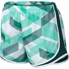 Mint Green Printed Tempo Shorts $35.99... Part of Sports Unlimited's Buy One, Get One 50% Off apparel sale