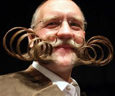 Movember is an annual event that encourages men to grow facial hair to raise money for men's health. There's a Movember moustache styles for everyone! Moustaches, Beards And Mustaches, Crazy Beard, Full Beard, Mustache Styles, Awesome Beards, Movember, Beard No Mustache, Hair