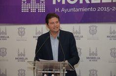 El alcalde de Morelia hizo un llamado respetuoso al Ejecutivo Estatal para sostener una reunión de trabajo y analizar de manera abierta ante la sociedad, la estrategia de seguridad para ...