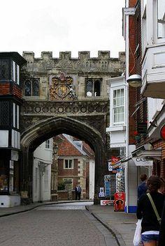 High Street Gate, near Salisbury Cathedral, England