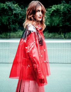 Alexa Chung photographed by Erik Madigan Heck for Violet