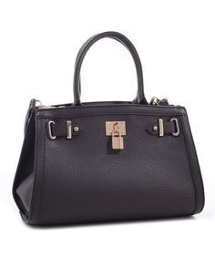 Love this Charcoal Amelia Satchel on #zulily! #zulilyfinds