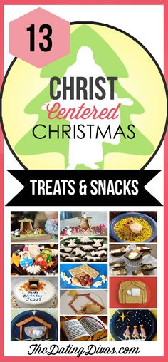 Christ-Centered Christmas Treats and Snacks to make with the kids.  These are SO cute!  TheDatingDivas.com