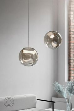 Smooth curves and ingenious design are the hallmark for scandinavian crafstmanship. This stunning pendant light boasts hand-blown glass making each shape unique. Inspired by the pale shades of Nordic dawn, this pendant light is perfect the the contemporary home.#lights #pendantlighting #lightingdesign  #glasspendant #nordicliving #nordicdesign #nordicstyle #interiorstyling #interiordesign #interiordecor #homeinspo  #homestyle  #Scandinaviankitchen #Scandinaviandesign #Scandinavianinterior