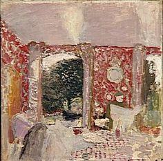 La salle à manger rouge / Vuillard