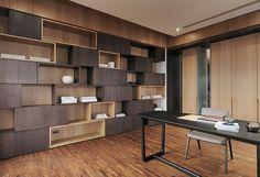 one work design 工一設計 / residence, lan yang Shelving Design, Shelf Design, Cabinet Design, Home Office Design, House Design, Design Furniture, Office Interiors, Home And Living, Interior Architecture