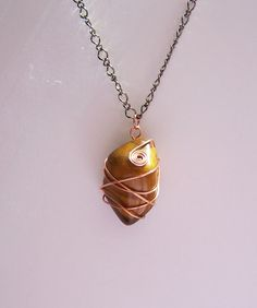 Large Tiger Eye Pendant