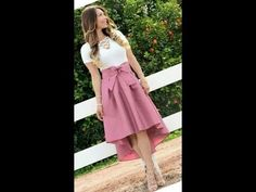 OUTFITS CON FALDAS DE MODA 2018 |OUTFITS WITH FASHION SKIRTS 2018 - YouTube Fashion Skirts, Ballet Skirt, Formal, Youtube, Outfits, Style, Vestidos, Dios, Skirts