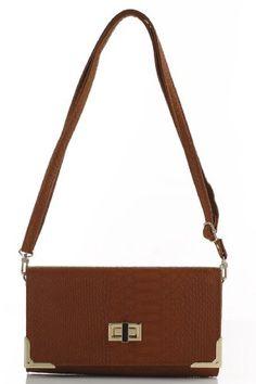 Designer Inspired Linette Convertible Clutch/Crossbody/Shoulder Handbag - Colors Available