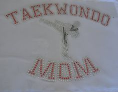 Taekwondo, Taekwondo Iron On, Taekwondo Iron On, DIY Taekwondo, black belt, kick