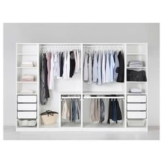 Discover the IKEA PAX wardrobe series. Design your own PAX wardrobe inside and out, from door styles, to shelves, to interior organizers and more. Pax Corner Wardrobe, Ikea Pax Wardrobe, Walk In Wardrobe, Bedroom Wardrobe, Wardrobe Design, Walk In Closet, Closet Space, White Wardrobe, Ikea Wardrobe Storage