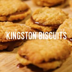 Once you try our homemade 'Kingston' biscuits, you'll never go back. Biscuit Bar, Biscuit Cookies, Yummy Cookies, Sweet Biscuit Recipe, Oat Cookie Recipe, Donut Recipes, Baking Recipes, Cookie Recipes, Healthy Biscuits