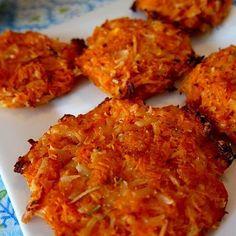 Sweet Potato Parmesan Crisps