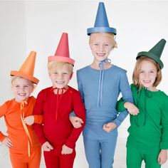 24 Awesome DIY Halloween Costumes to Try This Year // DIY Crayon Costume Costume for a Toddler. Coolest Halloween Costume Contest Kids / Fun and Easy DIY Kids Costume Ideas Costume Halloween, Diy Halloween Costumes For Kids, Easy Costumes, Halloween Kostüm, Costume Ideas, Costumes Kids, Creative Costumes, Couple Costumes, Halloween Outfits