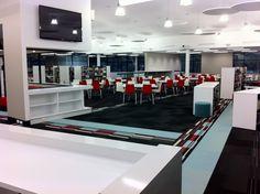TIGS Library - Leanne Windsor - Digital display, teaching space, multi-purpose.