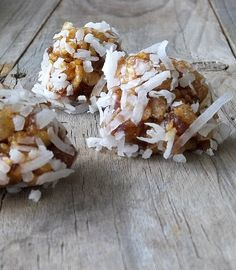 Coconut Date 'No Bake' Cookies ~~~ Make these every Christmas! Perfect for a Cookie Exchange selection.