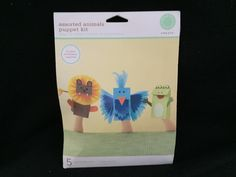 Animal Puppet Kit * NEW