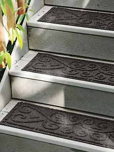 Indoor/Outdoor Stair Treads   Nonslip Stair Pads | Solutions
